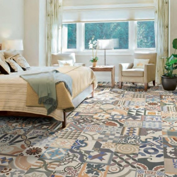 Patchwork stenske in talne ploščice