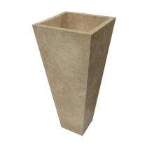 Pedestal beige umivalnik
